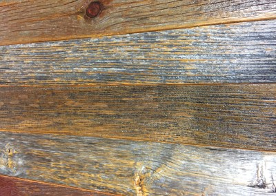 Old Wood Table Closeup