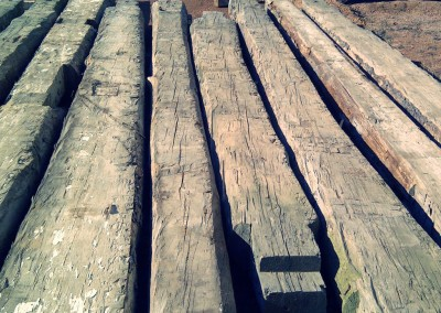 Reclaimed wood pieces