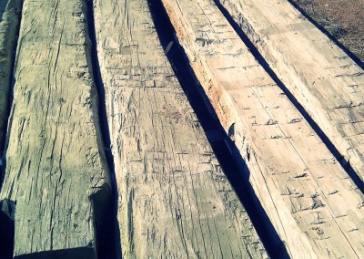 Stront reclaimed wood samples