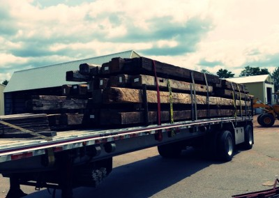 Reclaimed wood on the way