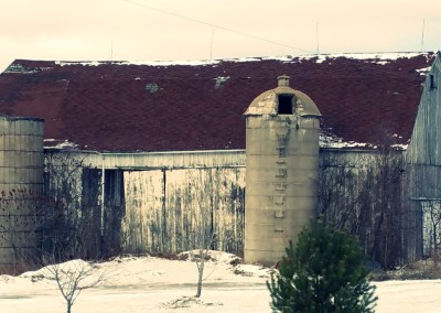Big old antique barn