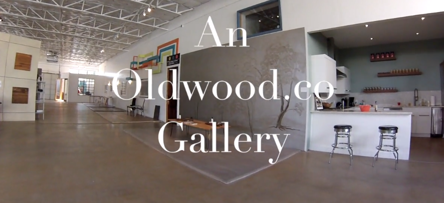 Video walk-through: simple and beautiful reclaimed wood on floors and houses