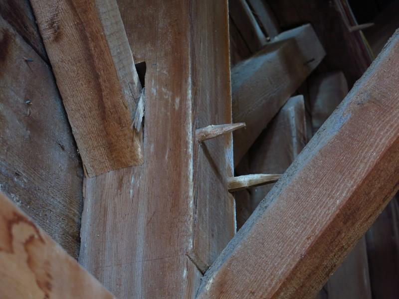 Barn timber frames